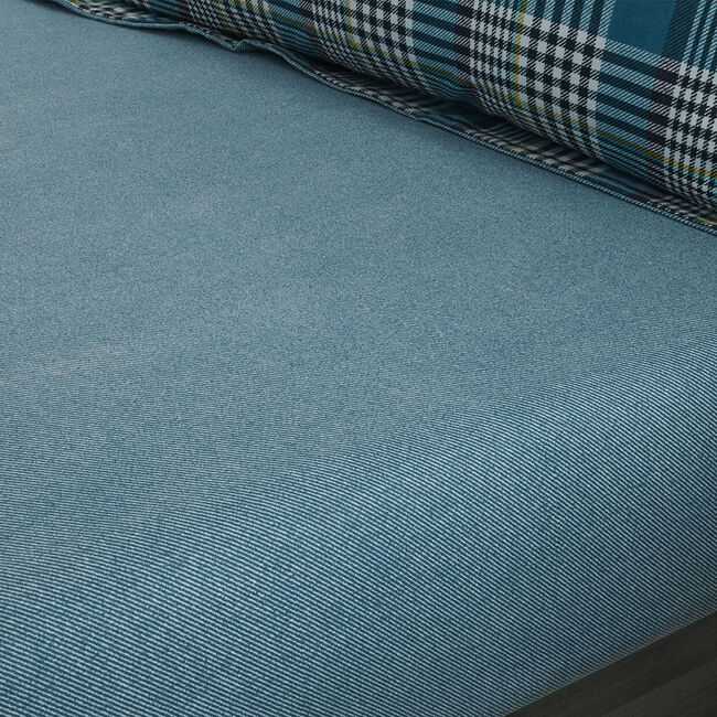 BRUSHED COTTON RATHRUANE Single Fitted Sheet