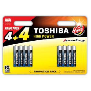Tobisha Alkaline 4AAA + 4 Free