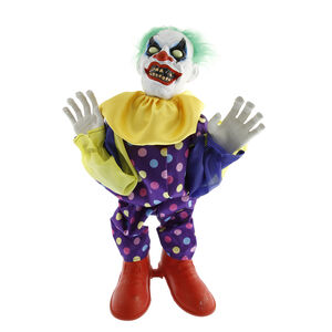 Light Up Standing Animated Clown