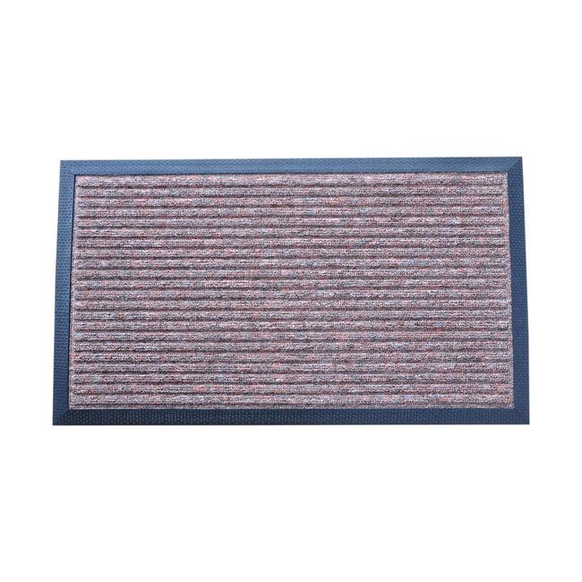 Esteem Stripe Doormat 60x90cm - Brown
