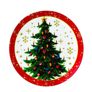 Love Christmas Tree Cookie Plate