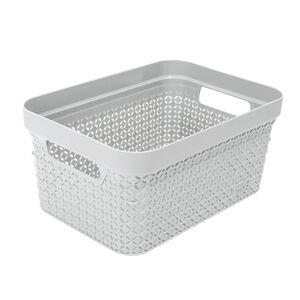Ezy Mode Small Basket Lily Cream 5L
