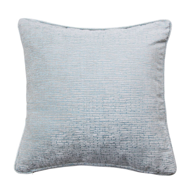 Bricks Cushion 45x45cm - Duck Egg