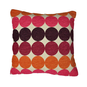 Chilton Burgundy Cushion 45cm x 45cm