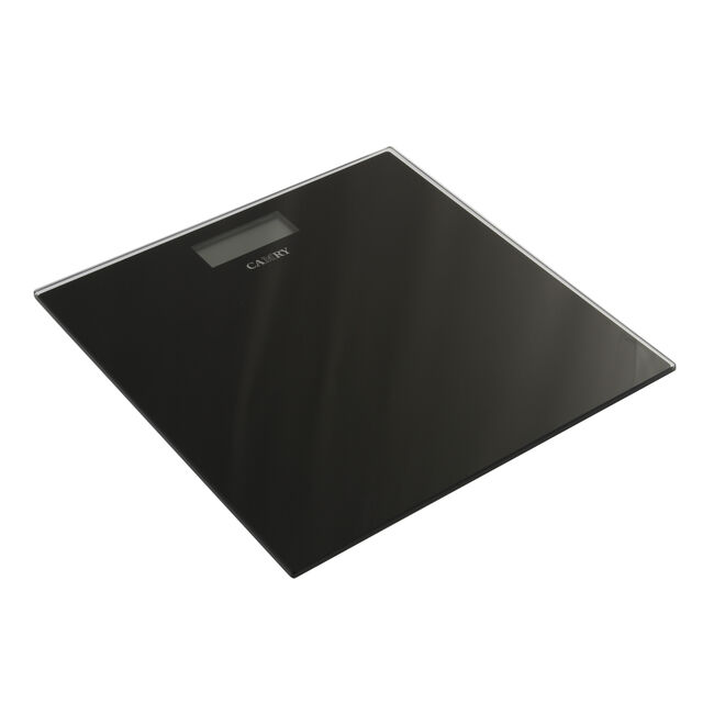 Camry Black Electronic Bathroom Personal Scale