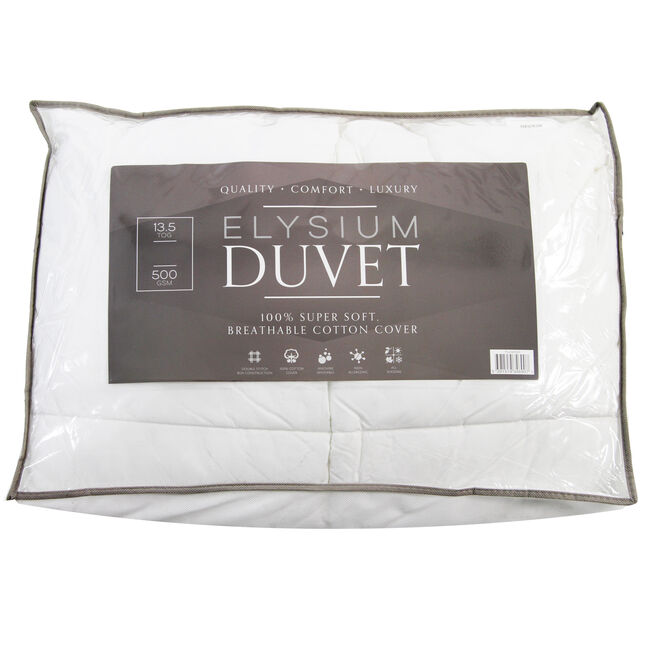 Elysium Microfibre Duvet Super King