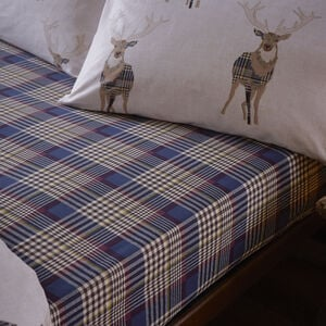 Checkered Stag Fitted Sheet