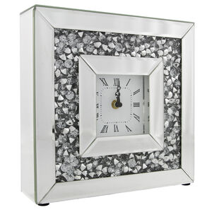 Cashel Living Crushed Diamond Clock