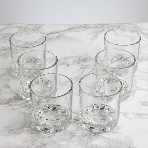 Essential Hobnobs Juice Glasses 20cl - 6 Pack