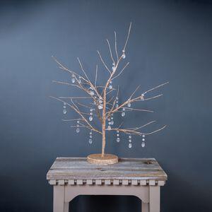 24 LED Decorative Glitter Jewel Tree