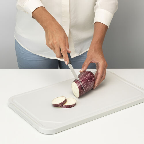 Brabantia Chopping Board & Serving Tray -Dark Grey