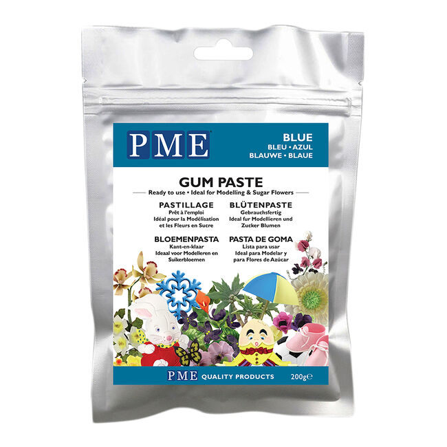 PME Gum Paste 200g - Blue
