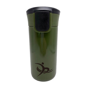 BodyGo Deep Green Vacuum Travel Mug 350ml