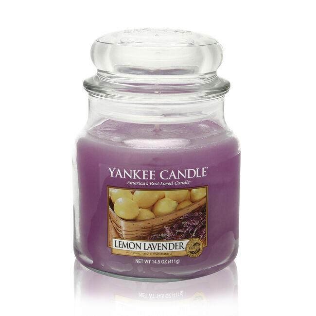 Yankee Candle Lemon Lavender Medium Jar