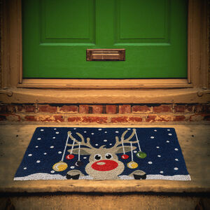 Rudolph Door Mat 40cm x 70cm