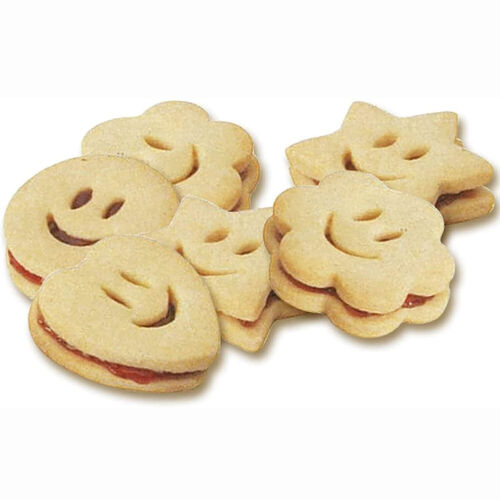 Zenke Smiley Face Cookie Cutters