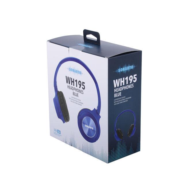 Sonarto WH195 Headphones - Blue