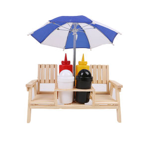Kitchen Classic Double Deck Chair Condiment Set
