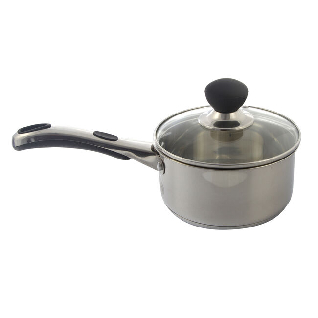 Easy Grip Saucepan with Lid 16cm