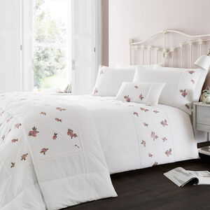SINGLE DUVET COVER Mary Rose Blush