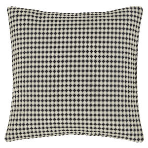 Waffle Raised Cushion 45x45cm - Black
