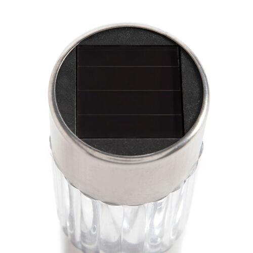 6 Stainless Steel Solar Bollards