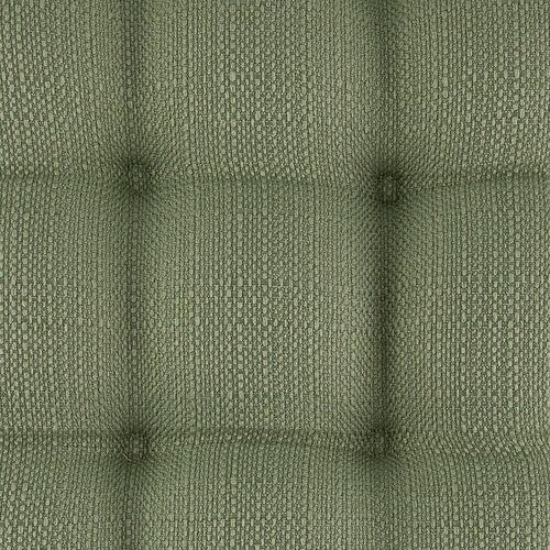 Square Woven Kitchen Seat Pad - Sage