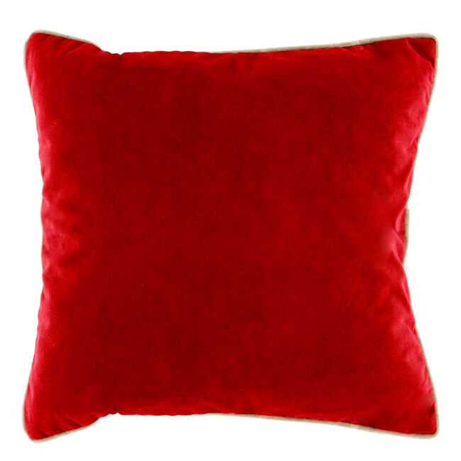 Naomi Cushion 58x58cm - Red