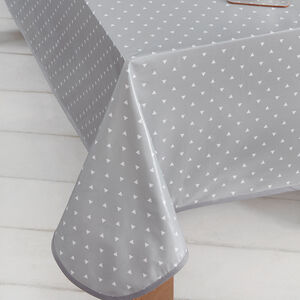 Logic Grey Table Cloth 160 cm x 230 cm