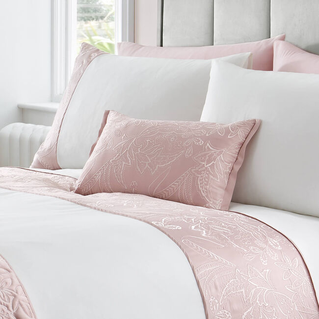 Olivia Marie Cushion 30x50cm - Blush