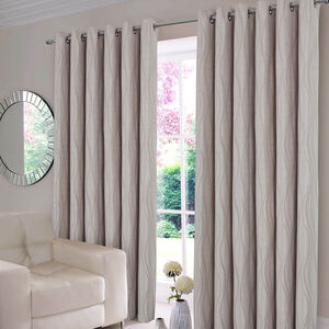 GEO LATTE 66x72 Curtain