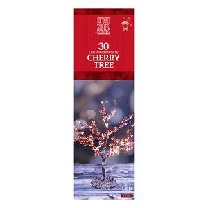 30 LED Warm White Cherry Tree