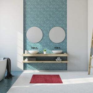 Horizon Bath Mat 40 x 60cm - Blush