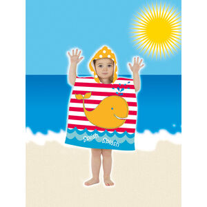 Mini Poncho Pals Kids Beach Towel