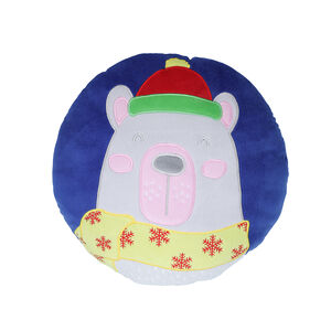 Polar Bear Cushion 35cm