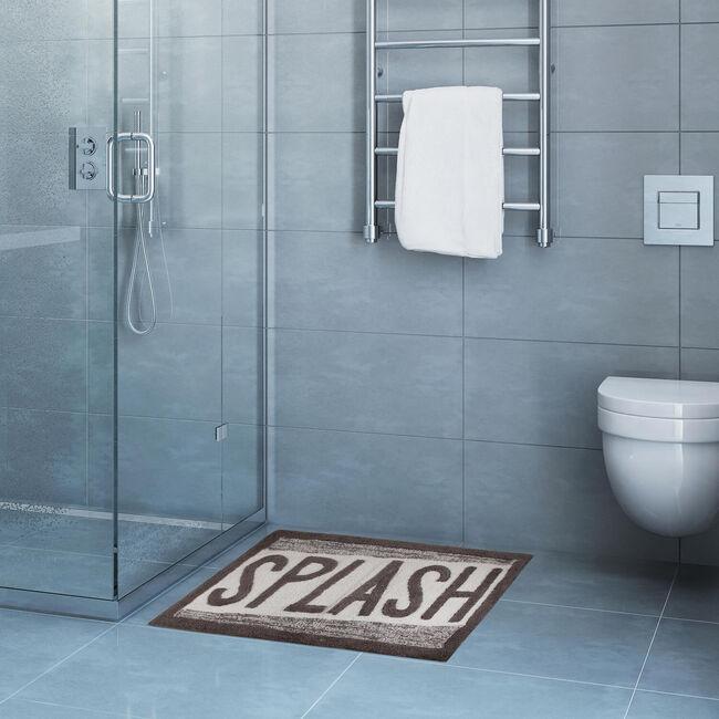 Slash Bath Mat 50 x 80cm - Grey