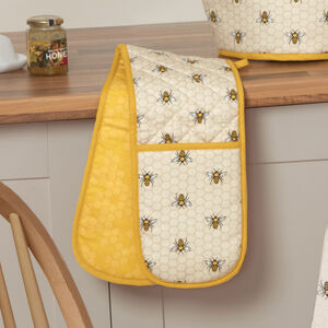 Honey Bees Double Oven Glove