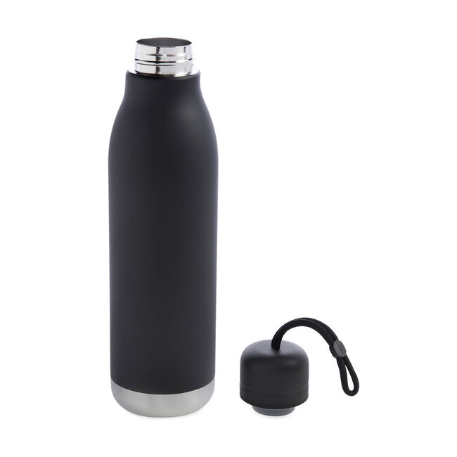 BodyGo Double Wall Loop Bottle 750ml - Black