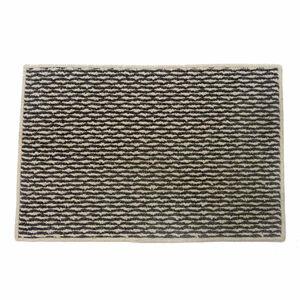 Sahara Doormat 60x180cm - Ivory & Charcoal
