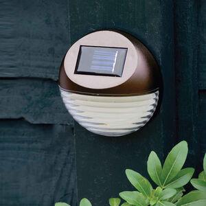 Bronze Fence Solar Light