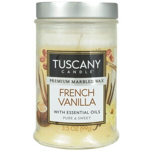 Tuscany 3.5oz Candle French Vanilla