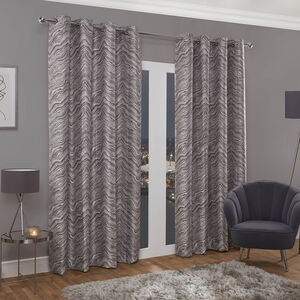 HYDE NATURAL 66x54 Curtain