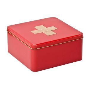 Storage First Aid Metal Tin