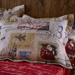 Vintage Santa Pillowshams
