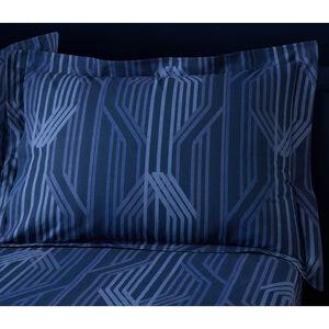 Myrtle Oxford Pillowcase Pair - Navy