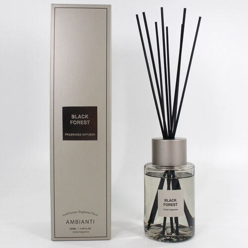 Ambianti Black Forest 220ML Reed Diffuser