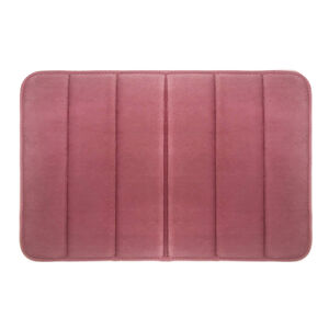 Memory Foam Bath Mat 40x60cm - Blush