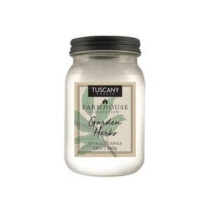Tuscany Farmhouse 12oz Candle Garden Herbs