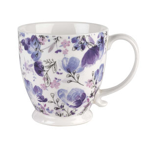 Kensington Ebony Blue Footed Mug