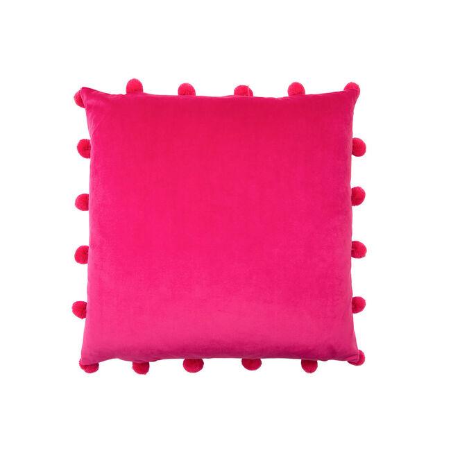 Large Bobble Cushion 45x45cm - Pink